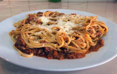 Boloňské špagety – Spaghetti Bolognese