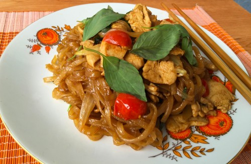 Pad Kee Mao – Opilcovy nudle